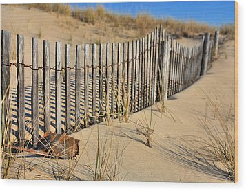Rehoboth Beach Wood Print by JC Findley