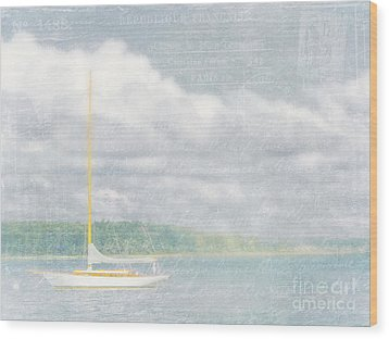 Remembering Ethereal Days Wood Print by Cheryl Butler