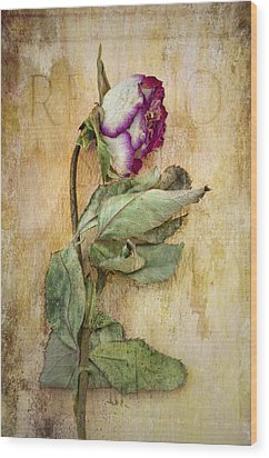 Remembrance Wood Print by Marion Galt