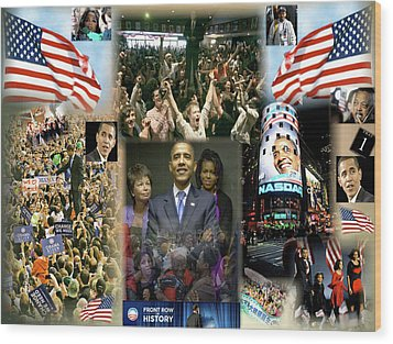 Respectfully Yours..... Mr. President 2 Wood Print by Terry Wallace