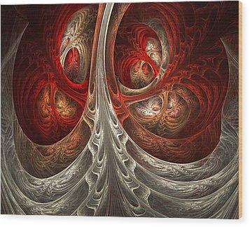 Respiratory Wood Print by Lourry Legarde