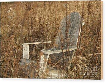 Restfull Wood Print