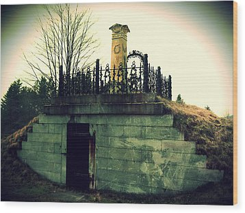Resting Place Wood Print by Scott Baer