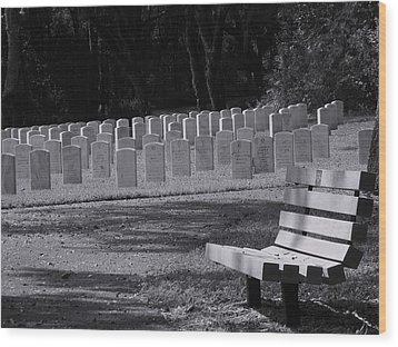 Resting Place Wood Print by Warren Thompson