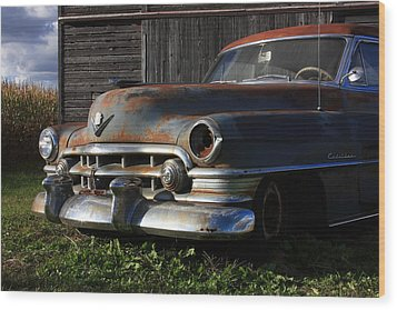 Retired Wood Print by Lyle Hatch