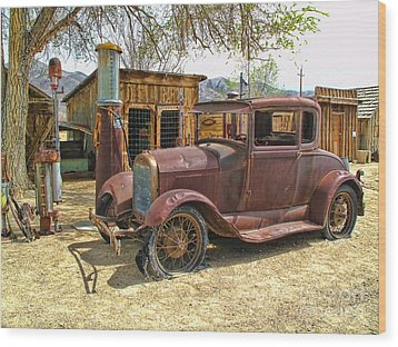 Wood Print featuring the photograph Retired Model T by Jason Abando