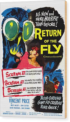 Return Of The Fly, Top Right Danielle Wood Print by Everett