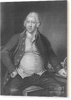 Richard Arkwright, English Industrialist Wood Print by Photo Researchers