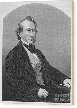 Richard Cobden (1804-1865). /nenglish Politician And Economist. Steel Engraving, English, 19th Century Wood Print by Granger