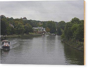 Wood Print featuring the photograph Richmond Cruise by Maj Seda