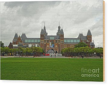 Rijksmuseum- 04 Wood Print by Gregory Dyer