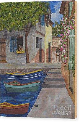 Rio De Lucia Wood Print by Kimberlee Weisker
