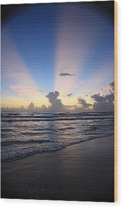 Rise And Shine II Wood Print by Mandy Shupp