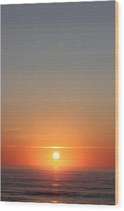 Rising Of The Sun Wood Print by Static Studios