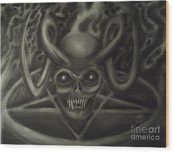 Ritual Wood Print by Matt Detmer