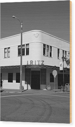 Ritz Building Eureka Ca Wood Print