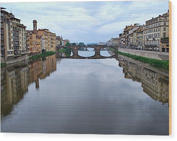 River Armo. Wood Print by Terence Davis