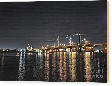 River City Wood Print by Eric Grissom