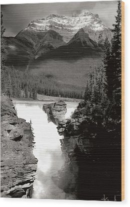 River Fall Part 1 Wood Print by Marcin and Dawid Witukiewicz