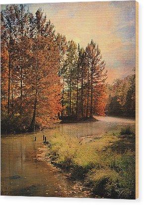 River Of Hope Wood Print by Jai Johnson