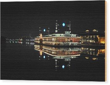 River Queen Wood Print