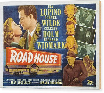 Road House, Ida Lupino, Richard Wood Print by Everett