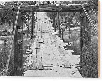 Road To Nowhere Wood Print
