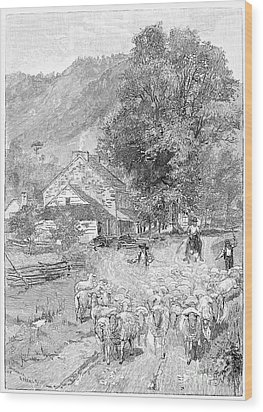 Road Travel Wood Print by Granger