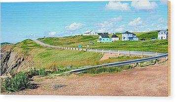 Wood Print featuring the photograph Road Trip In Cape Breton Nova Scotia by Joe  Ng