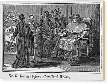Robert Barnes (1495-1540) Wood Print by Granger
