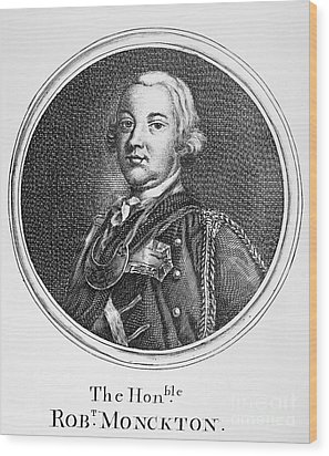 Robert Monckton (1726-1782) Wood Print by Granger