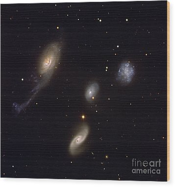 Roberts Quartet Wood Print by European Southern Observatory