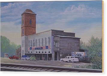 Rock Hill Feed And Supply  Sold Wood Print