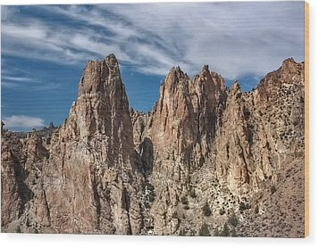 Wood Print featuring the photograph Rock On by Tyra  OBryant