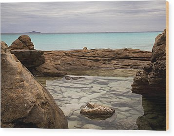 Wood Print featuring the photograph Rock Pool by Serene Maisey
