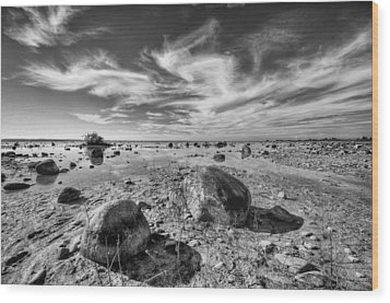 Wood Print featuring the photograph Rockscape by Coby Cooper