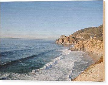 Rocky Pacific Coast Wood Print