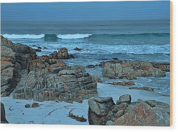 Wood Print featuring the photograph Rocky Shores by Renee Hardison