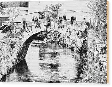 Roeder Bridge Wood Print by Bodo Herold
