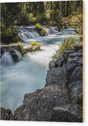 Wood Print featuring the photograph Rogue River - 2 by Randy Wood