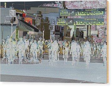 Wood Print featuring the photograph Rolling Down Bullard Street by Vicki Pelham