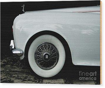 Rolls Royce Wood Print by Jose Luis Reyes