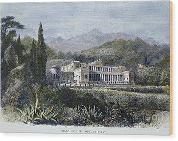 Roman Villa Wood Print by Granger