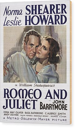 Romeo And Juliet, Leslie Howard, Norma Wood Print by Everett