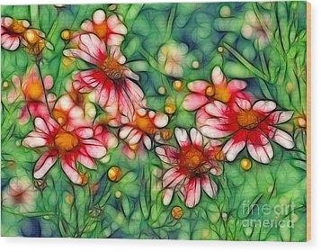 Rondo Wood Print by Aimelle