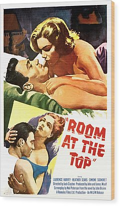 Room At The Top, Simone Signoret Wood Print by Everett