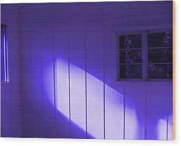 Room With A Mood Wood Print by Kym Backland