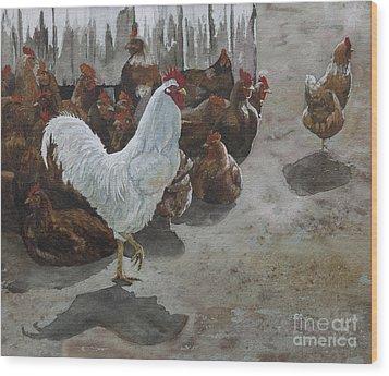Roost Wood Print