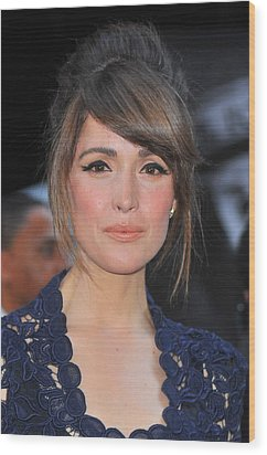 Rose Byrne At Arrivals For X-men First Wood Print by Everett