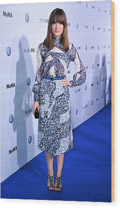 Rose Byrne Wearing A Dress By Peter Wood Print by Everett